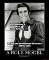 Fonzie the rolemodel