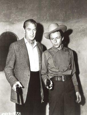 Gary Cooper & Frank Sinatra