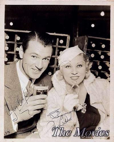 Classic Movies wallpaper entitled Gary Cooper & Mae West