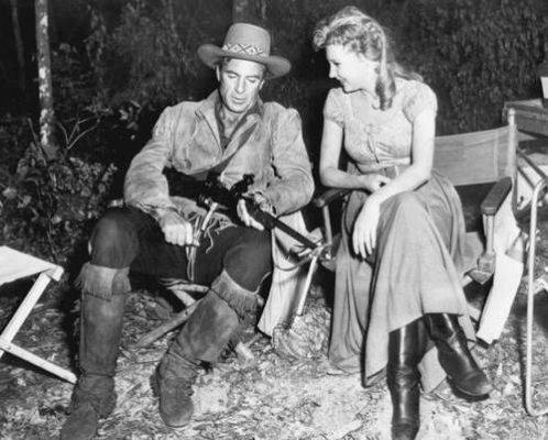 Gary Cooper & Mari Aldon