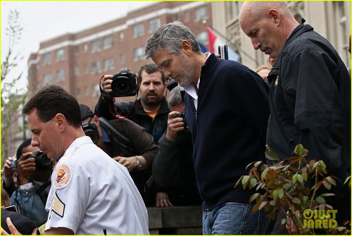 George Clooney Arrested in Washington, D.C.