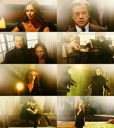 Ghost Whisperer wallpaper probably containing a business suit, a concert, and a sign called Ghost Whisperer <3
