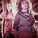 Ginny and Molly Weasley