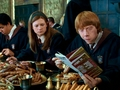 Ginny and Ron Weasley