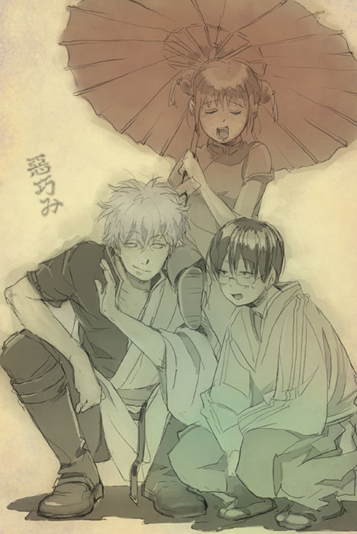 gintama kagura and shinpachi - photo #12