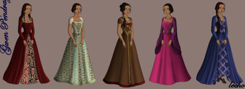 Guinevere - Gowns (2)