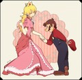 Hand in Hand - mario-and-peach fan art