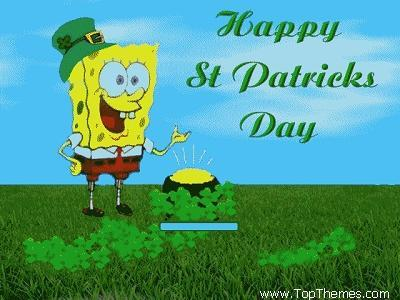 Happy st patricks 日 everyone :) xx