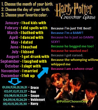 Harry Potter Crossover Game