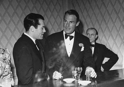 Henry Fonda & Randolph Scott