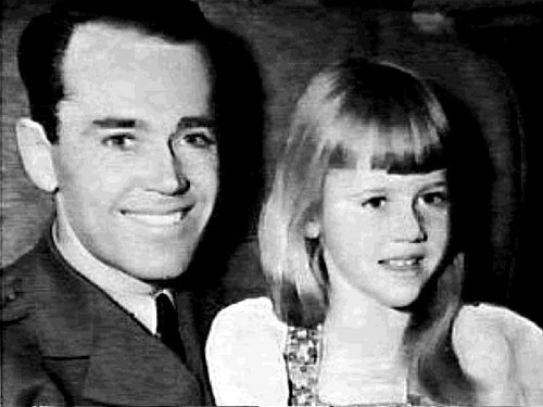 Henry Fonda with daughter Jane