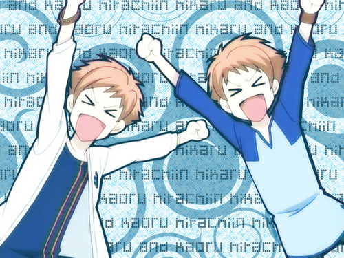 Anime Siblings wallpaper containing anime entitled Hikaru and Kaoru