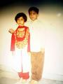 Himansh & his sis Disha
