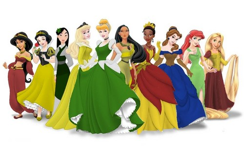 Hogwart's Disney Princesses