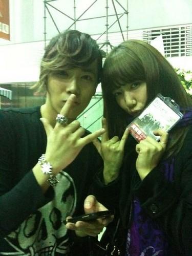 Hongki & Shin Hye