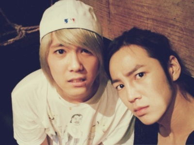 FT ISLAND (에프티 아일랜드) wallpaper possibly containing a portrait titled Hongki & Jang Geun Suk