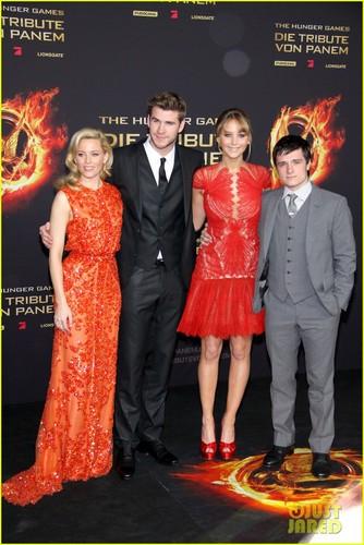 Hunger Games Berlin Premiere
