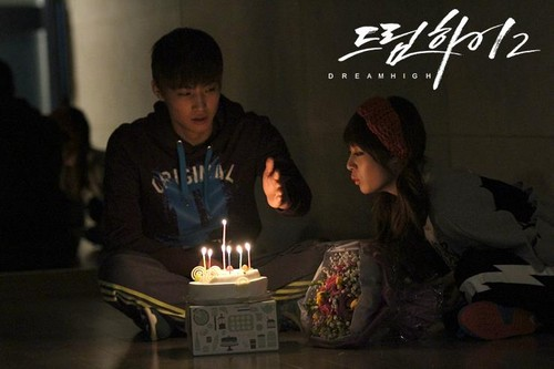 Dream High 2 wallpaper with a candle entitled JB & RIAN