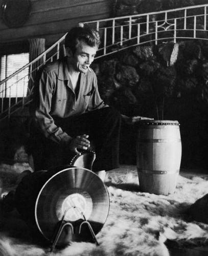 James Dean and the bongos
