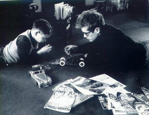 James Dean & cousin Markie
