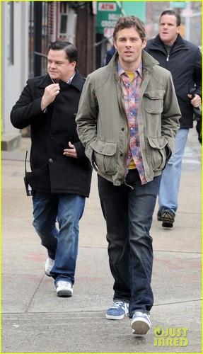 James Marsden: '30 Rock' Set!
