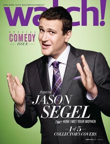 Jason Segel Cover 'Watch Magazine'