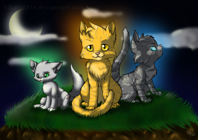 Warrior Katzen Hintergrund with Anime titled Jayfeather~ <3