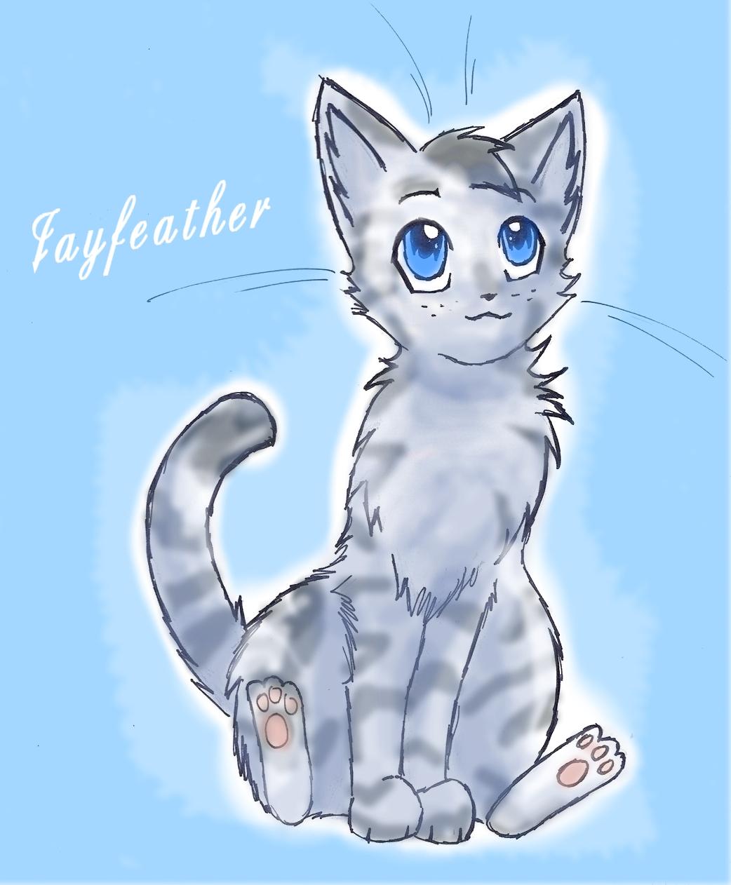 Good Wallpaper Minecraft Cats - Jayfeather-3-warrior-cats-29838853-1042-1262  Image_43727.jpg