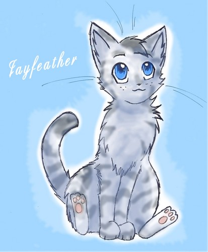 Warrior Katzen Hintergrund titled Jayfeather~ <3