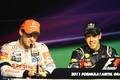 Jenson And Vettel