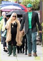 Jessica Simpson: St. Patrick's Day Stroll - jessica-simpson photo