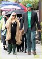 Jessica Simpson: St. Patrick's Day Stroll - jessica-simpson photo