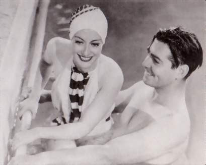 Joan Crawford & Clark Gable