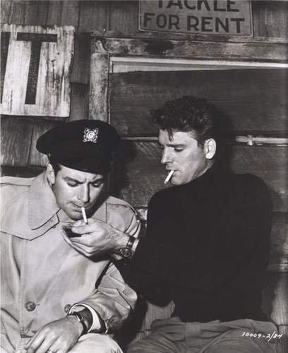 John Bromfield & Burt Lancaster