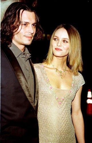 Johnny Depp wallpaper called Johnny Depp, Vanessa Paradis