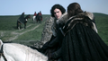 Jon and Eddard Stark