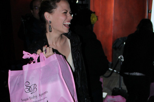 Joy at Zooey Magazine Relaunch Party