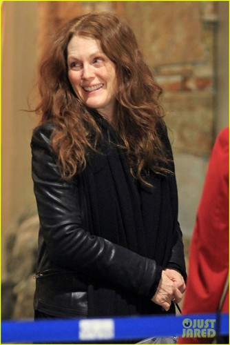 Julianne Moore: Back to NYC