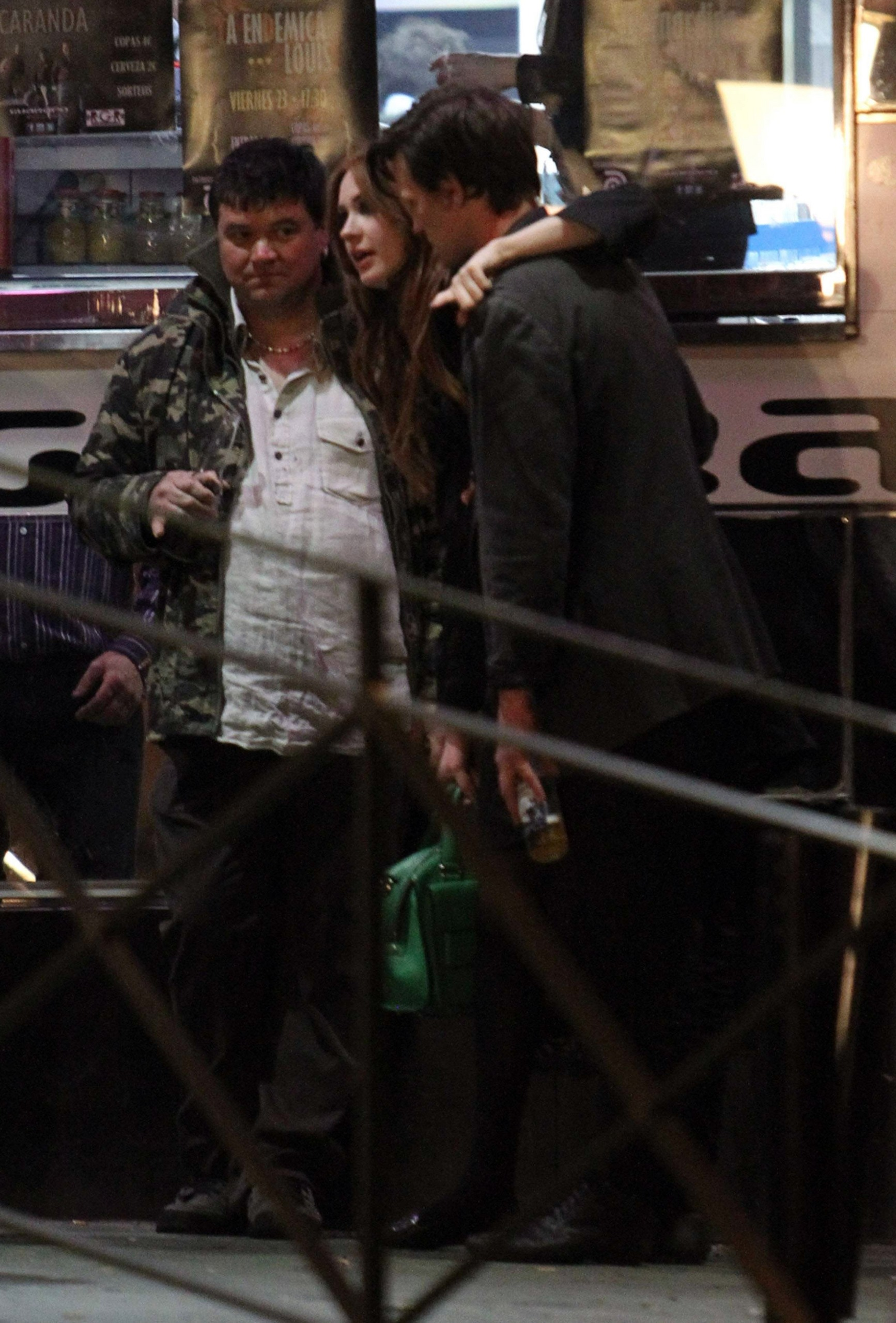 Karen Gillan and Matt Smith are seen hanging out in Almeria, Spain (March 11)