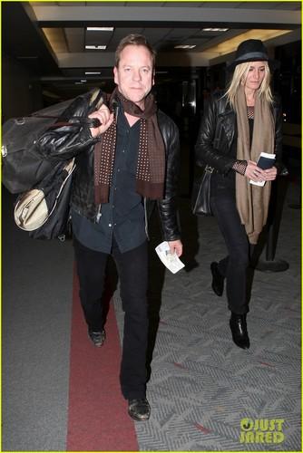 Kiefer Sutherland: L.A. Landing