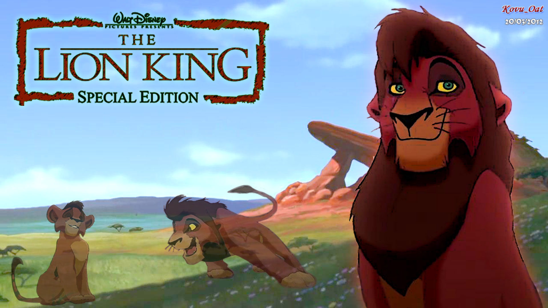Lion King 2 Kovu 911 Hd Wallpapers Pictures To Pin On