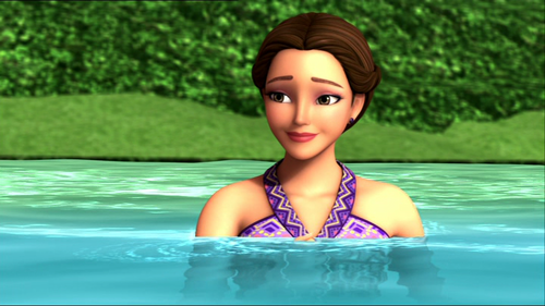 Barbie-Filme Hintergrund containing a hot tub and a water entitled Kylie's a CUTIE <3