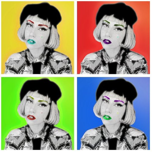 Lady GaGa!♥-Fan Art!