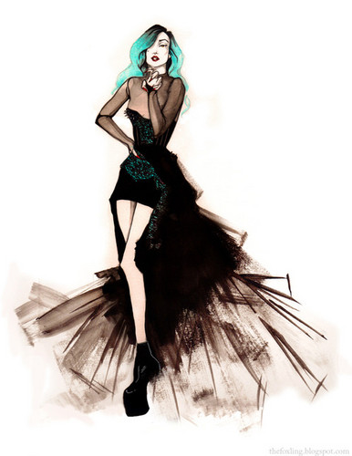 Lady GaGa!♥-Fan Art!