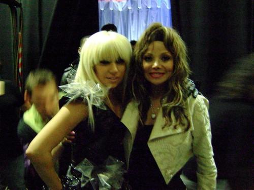 Lady Gaga (@LadyGaga) and Michael Jackson's sister Latoya Jackson (@LatoyaJackson) in Ireland