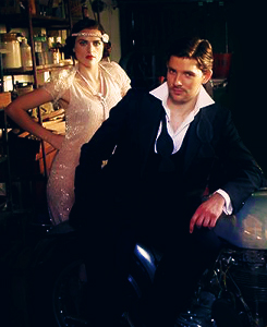 Lady Magazine presents: Katie McGrath & Colin morgan as Bonnie & Clyde