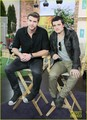 Liam Hemsworth &amp; Josh Hutcherson Talk 'Hunger Games' in Toronto - liam-hemsworth photo