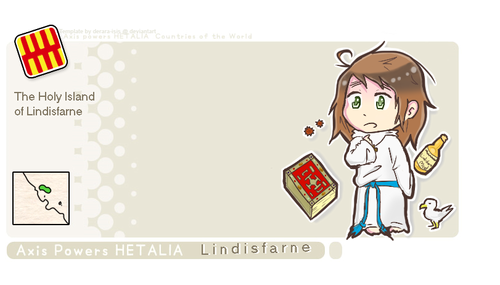 Lindisfarne - hetalia-fan-characters Photo