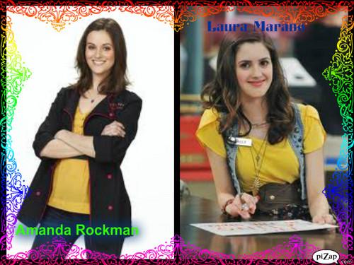 Look-a-likes (Amanda Rockman and Laura Marano)