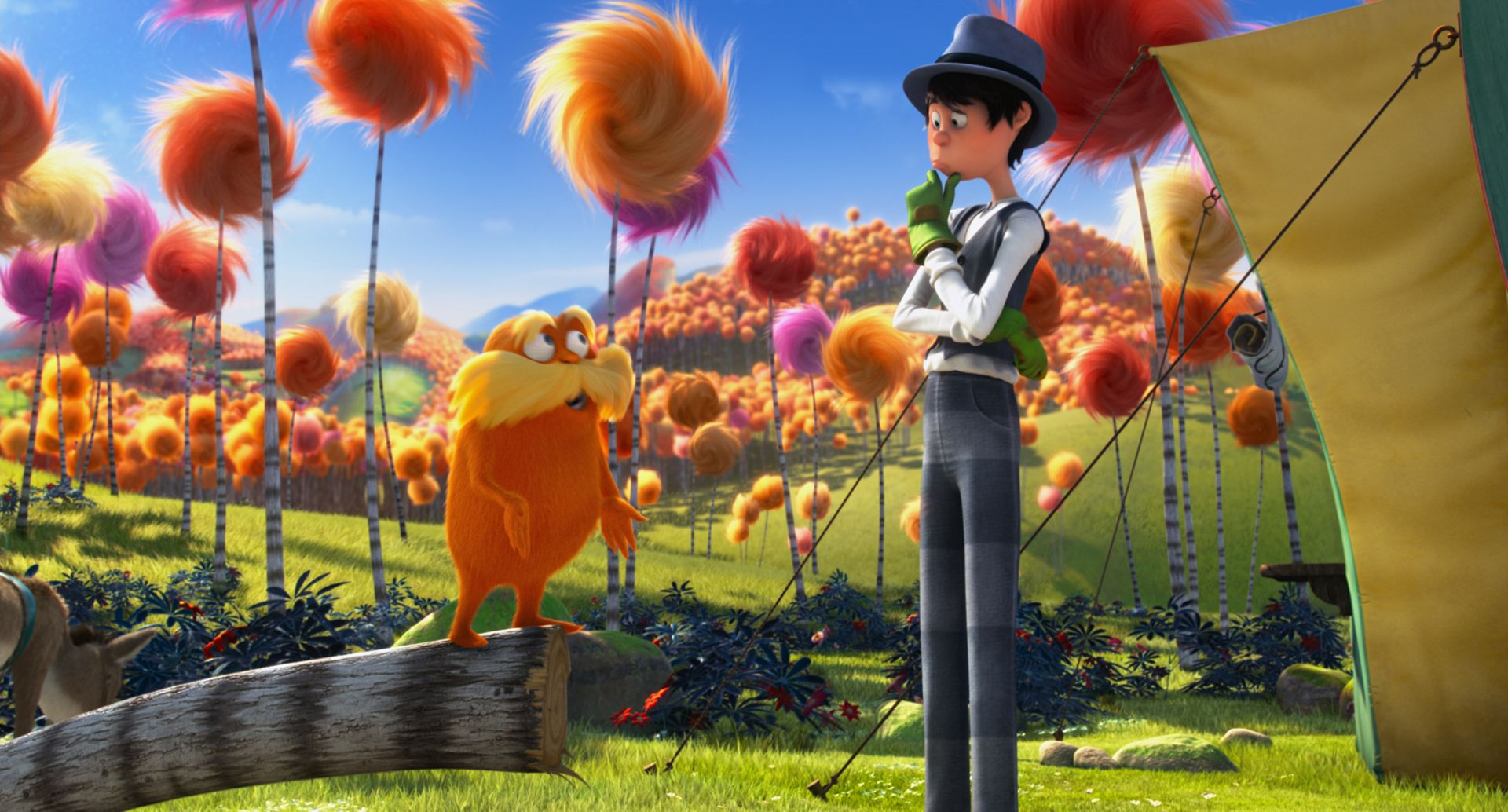 once ler and lorax meet the browns